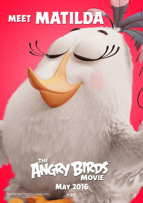 The Angry Birds Movie - Movie Poster