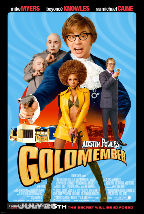 Austin Powers in Goldmember - Movie Poster