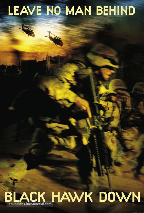 Black Hawk Down - Movie Cover