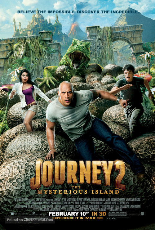 Journey 2: The Mysterious Island - Movie Poster
