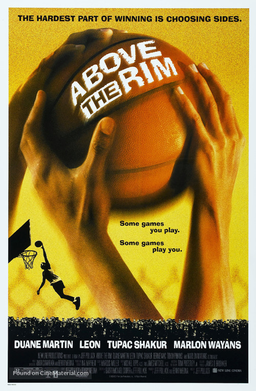 Above The Rim - Movie Poster