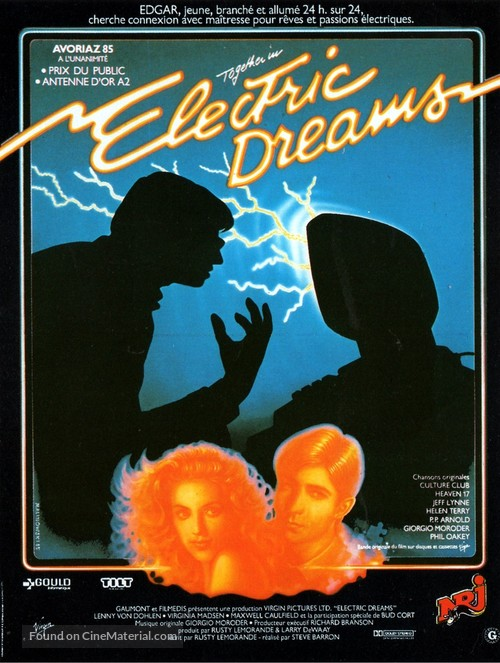 Electric Dreams - French Movie Poster