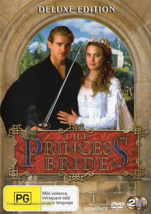 The Princess Bride - Australian Movie Cover