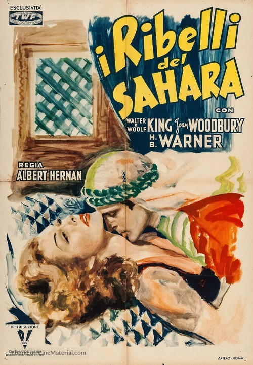 A Yank in Libya - Italian Movie Poster