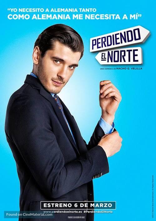 Perdiendo el norte - Spanish Movie Poster