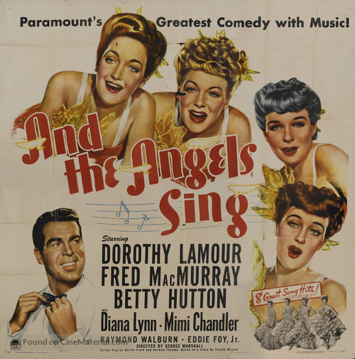 And the Angels Sing - Movie Poster