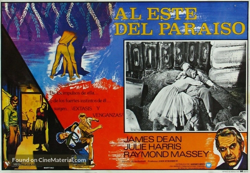 East of Eden - Mexican Movie Poster