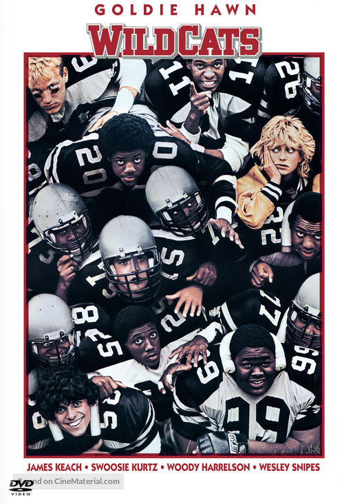 Wildcats - DVD movie cover