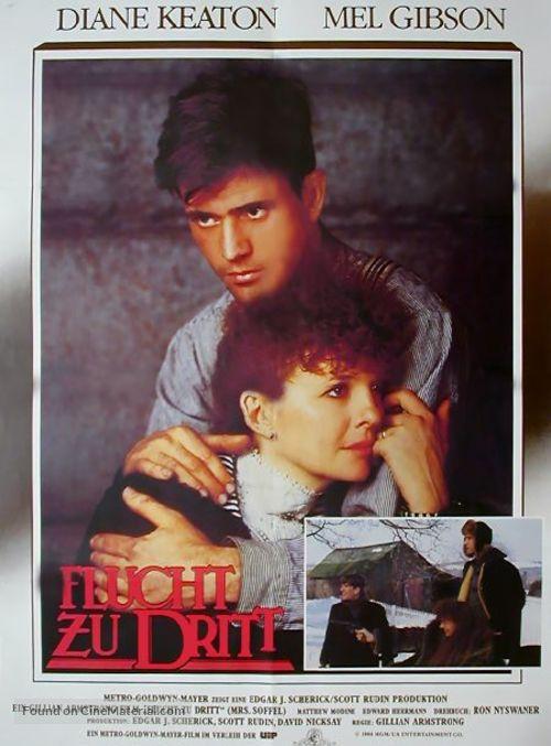 Mrs. Soffel - German Movie Poster