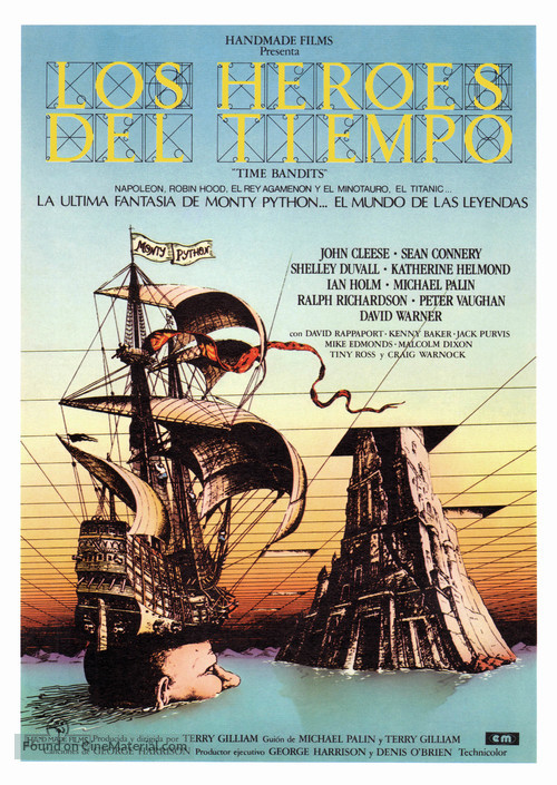 Time Bandits - Spanish Movie Poster