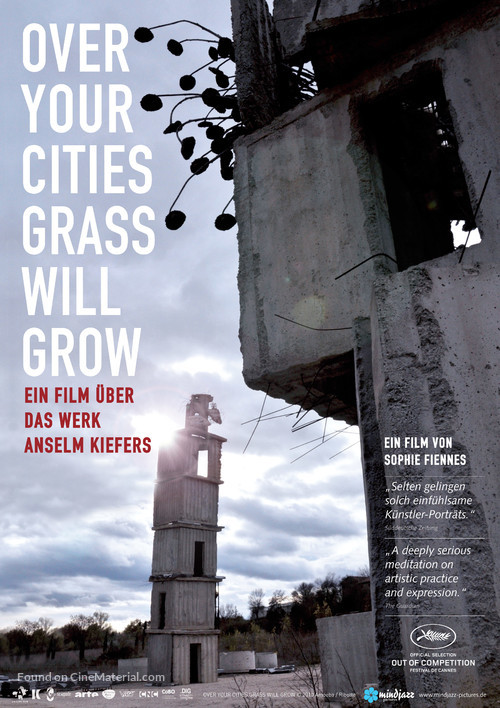 Over Your Cities Grass Will Grow - German Movie Poster