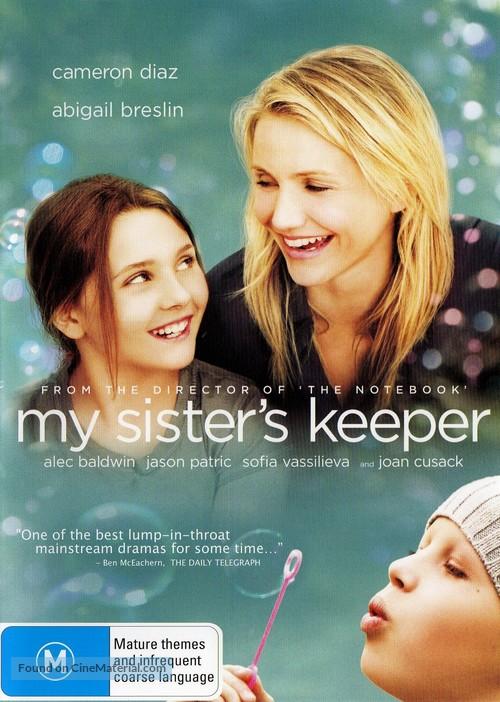 My Sister's Keeper - Australian DVD movie cover