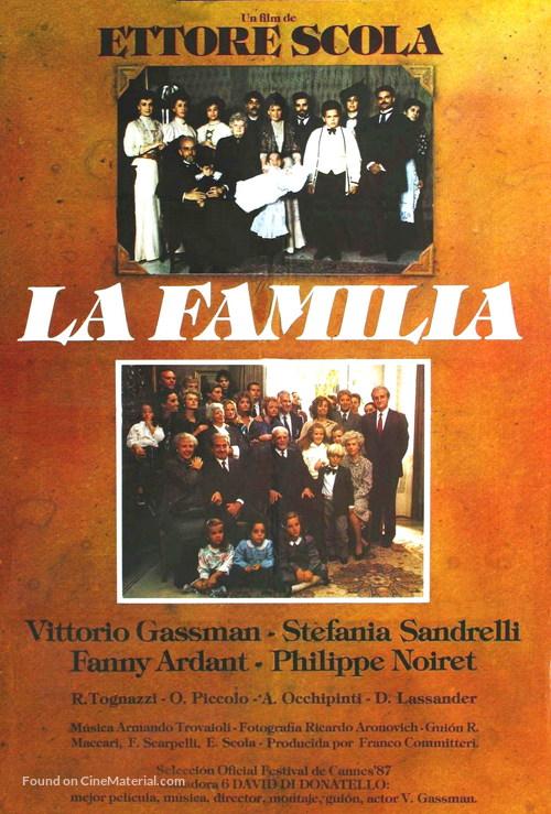 La famiglia - Argentinian Movie Poster