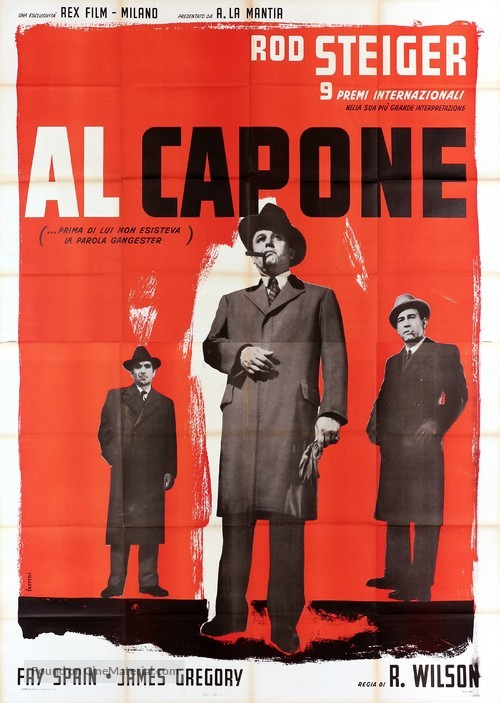 Al Capone - Italian Movie Poster