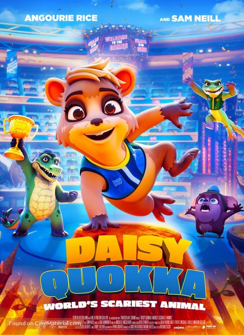 Daisy Quokka: World's Scariest Animal - British Movie Poster
