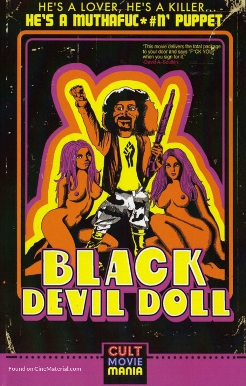 Black Devil Doll - VHS movie cover