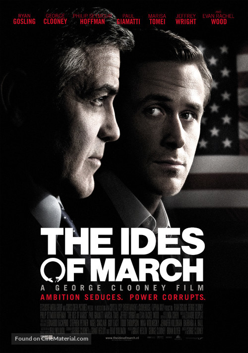 The Ides of March - Dutch Movie Poster