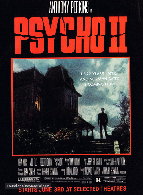 Psycho II - Movie Poster