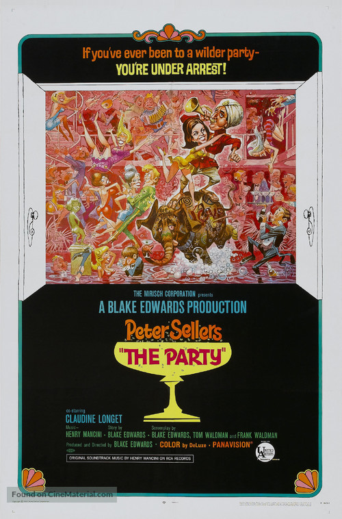 The Party - Theatrical movie poster