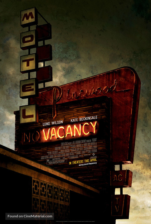 Vacancy - Theatrical movie poster