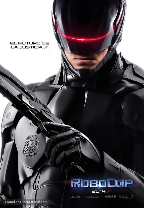 RoboCop - Spanish Movie Poster