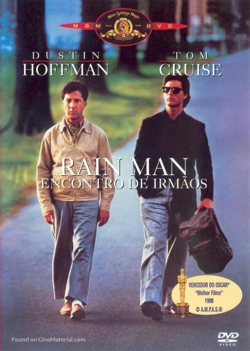 Rain Man - Portuguese DVD movie cover