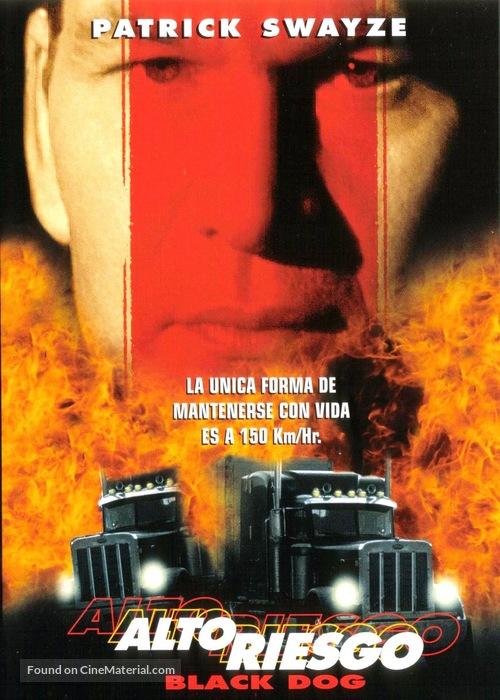 Black Dog - Chilean DVD movie cover