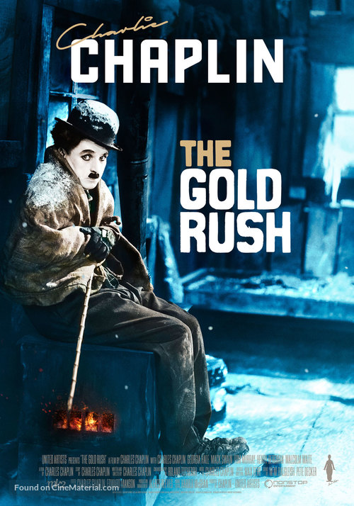The Gold Rush - Swedish Movie Poster