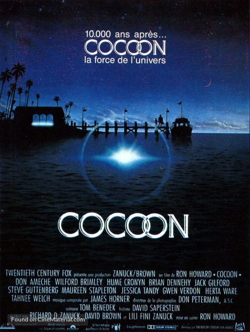 Cocoon - French Movie Poster