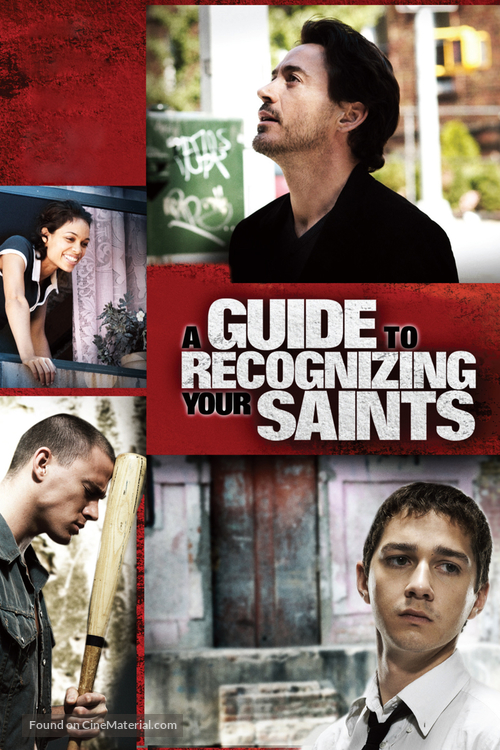 A Guide to Recognizing Your Saints - British DVD movie cover