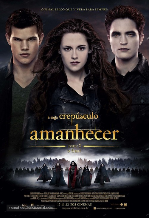 The Twilight Saga: Breaking Dawn - Part 2 - Brazilian Movie Poster