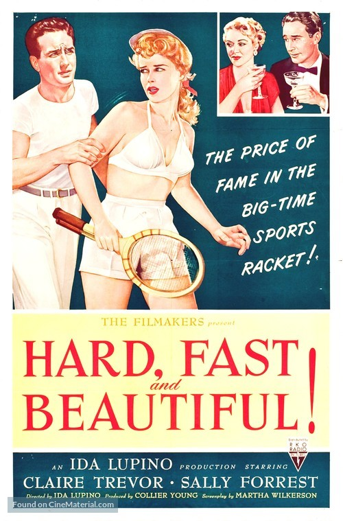 Hard, Fast and Beautiful - Movie Poster