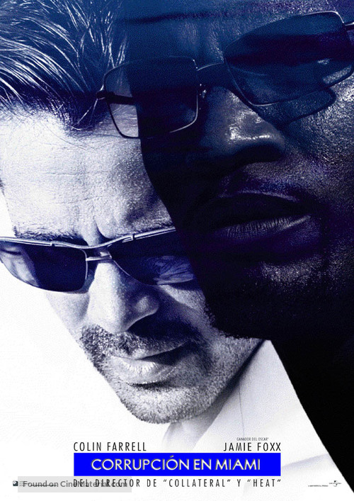 Miami Vice - Spanish Movie Poster