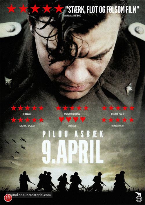 9. april - Danish DVD movie cover