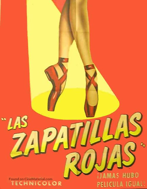 The Red Shoes - Spanish poster