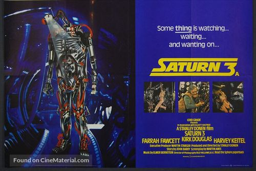 Saturn 3 - British Movie Poster