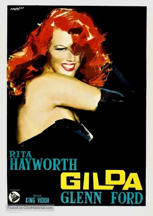 Gilda - Italian Movie Poster
