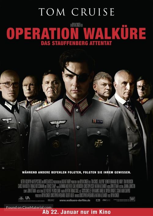 Valkyrie - German Movie Poster