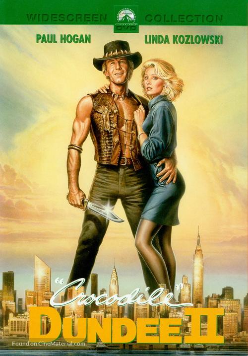 Crocodile Dundee II - DVD movie cover
