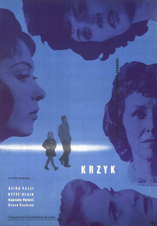Grido, Il - Polish Movie Poster