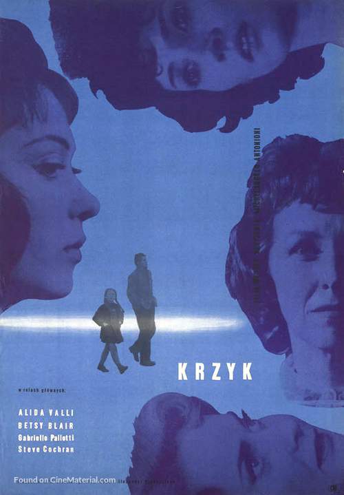 Il Grido - Polish Movie Poster