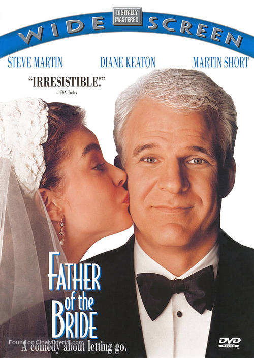 Father of the Bride - DVD movie cover