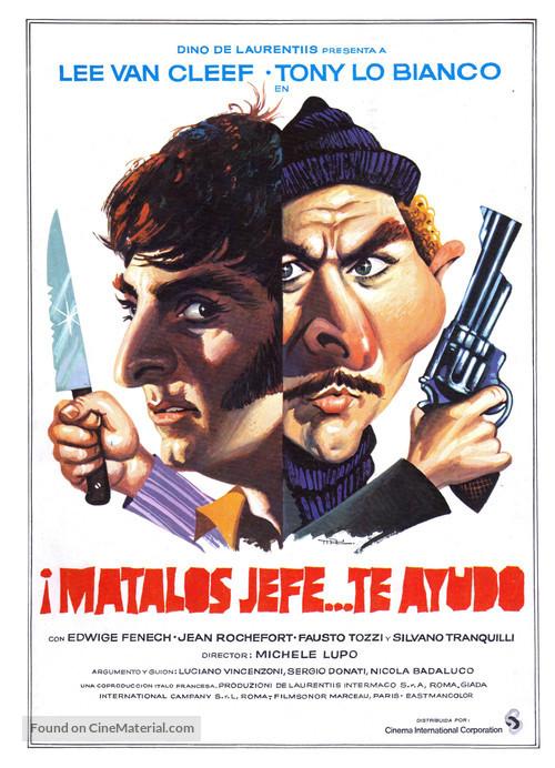 Dio, sei proprio un padreterno! - Spanish Movie Poster