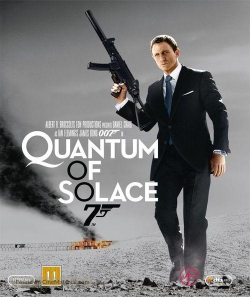 Quantum of Solace - Danish Movie Cover