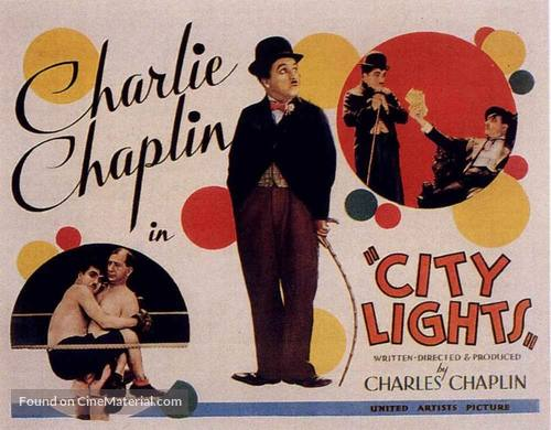 City Lights - Movie Poster