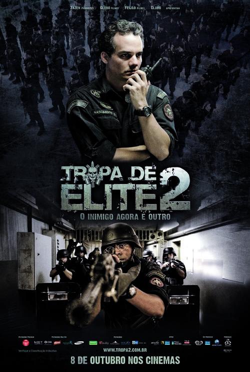 Tropa de Elite 2 - O Inimigo Agora É Outro - Brazilian Movie Poster