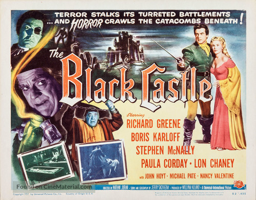 The Black Castle - Movie Poster