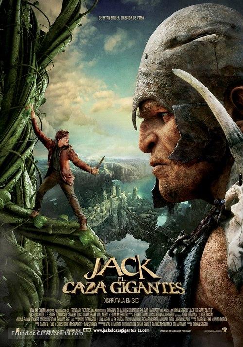 Jack the Giant Slayer - Spanish Movie Poster