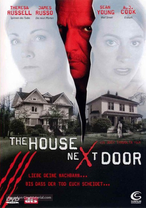 The House Next Door - German Movie Cover