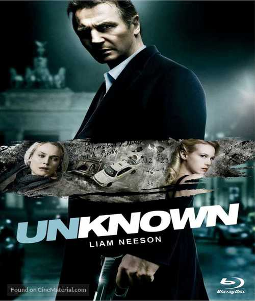 Unknown - Blu-Ray movie cover